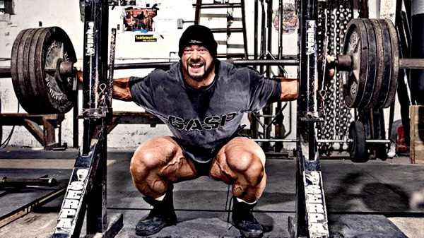 powerlifter squat